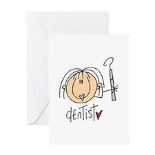 Female Dentist Greeting Card