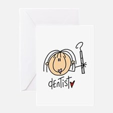 Female Dentist Greeting Card