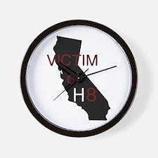 Unique Victim of h8 Wall Clock
