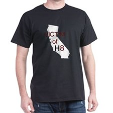 cal victim h8 reverse with transparent copy T-Shir