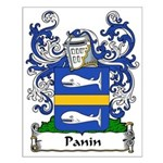 Panin Family Crest Small Poster