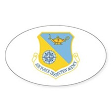 Inspection Agency Oval Decal