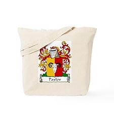 Pavlov Family Crest Tote Bag