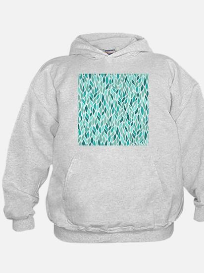 Mosaic Pattern Hoodie