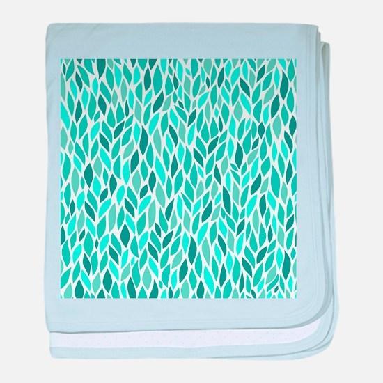 Mosaic Pattern baby blanket