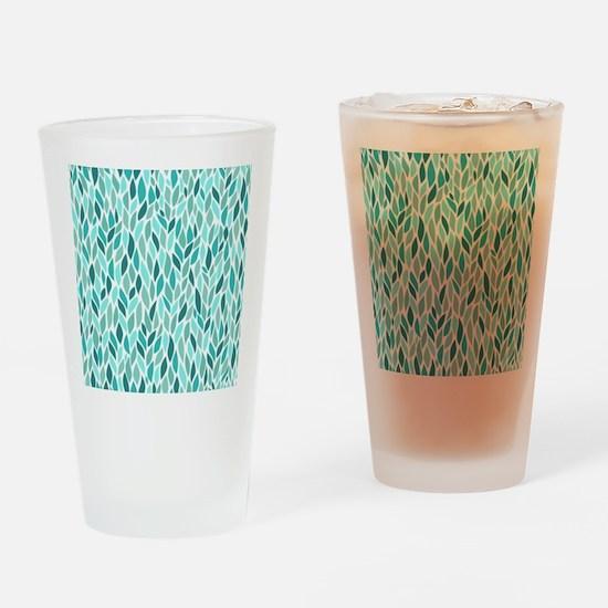 Mosaic Pattern Drinking Glass