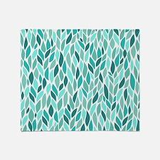 Mosaic Pattern Throw Blanket