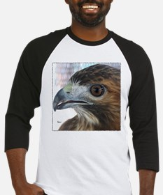 Red Tail Hawk Side Portrait Baseball Jersey