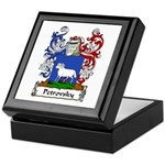 Petrovsky Family Crest Keepsake Box