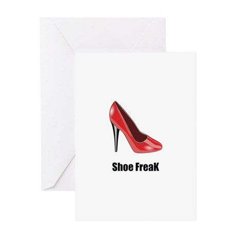 Shoe freak Greeting Card