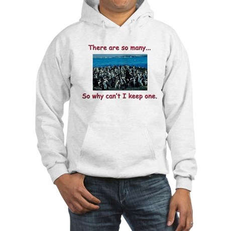 So Many Penguins Hooded Sweatshirt