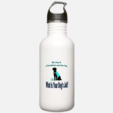 Torrette's syndrome service dog Water Bottle