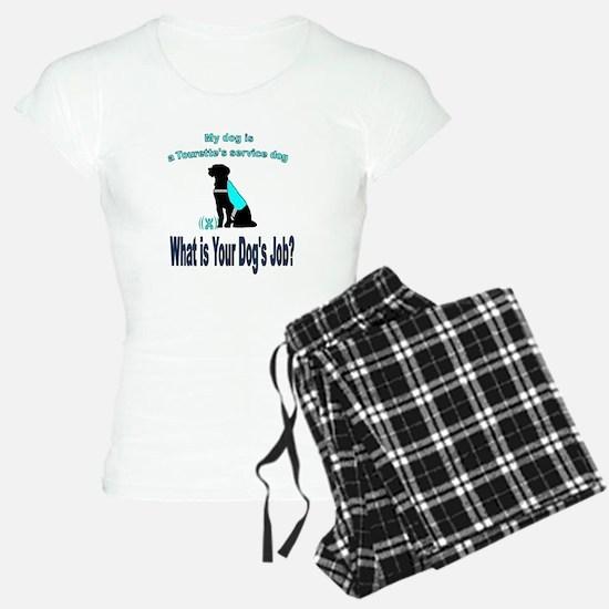 Torrette's syndrome service dog Pajamas