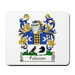 Polunin Family Crest Mousepad