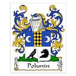 Polunin Family Crest Small Poster