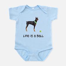 Doberman Pinscher Life Infant Bodysuit