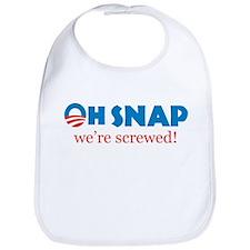 Oh Snap! We're screwed Bib