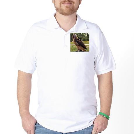 Red Tail Hawk (2) Golf Shirt