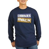 Chorkie lover Long Sleeve T-shirts (Dark)