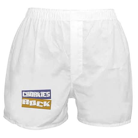 Chorkies ROCK Boxer Shorts