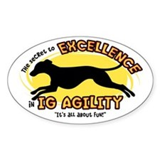 The Secret to IG Agility Oval Decal
