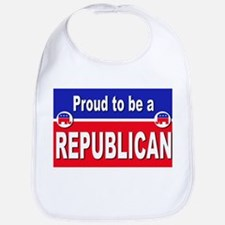 Proud to be a Republican Bib