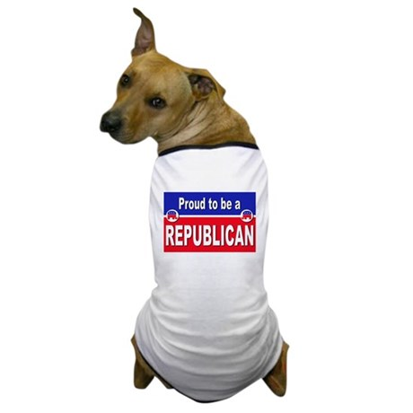 Proud to be a Republican Dog T-Shirt