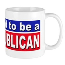 Proud to be a Republican Small Mug