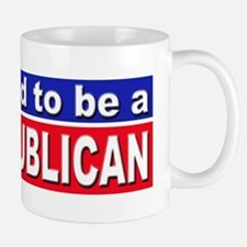 Proud to be a Republican Small Small Mug