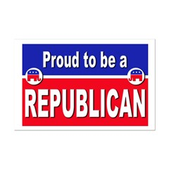 Proud to be a Republican Posters