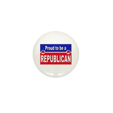 Proud to be a Republican Mini Button (10 pack)