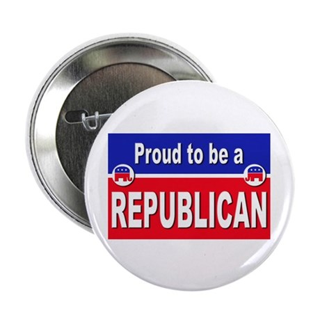 "Proud to be a Republican 2.25"" Button (10 pack)"