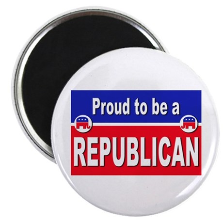 "Proud to be a Republican 2.25"" Magnet (10 pack)"