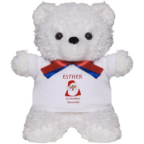 Esther Christmas Teddy Bear