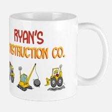 Ryan's Construction Tractors Mug