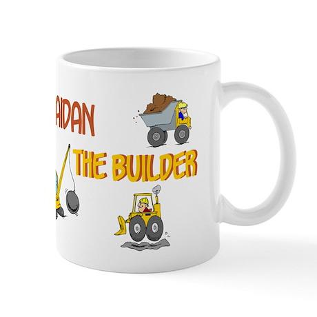 Aidan the Builder Mug