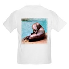 Sea Lion with an Itch Kids T-Shirt