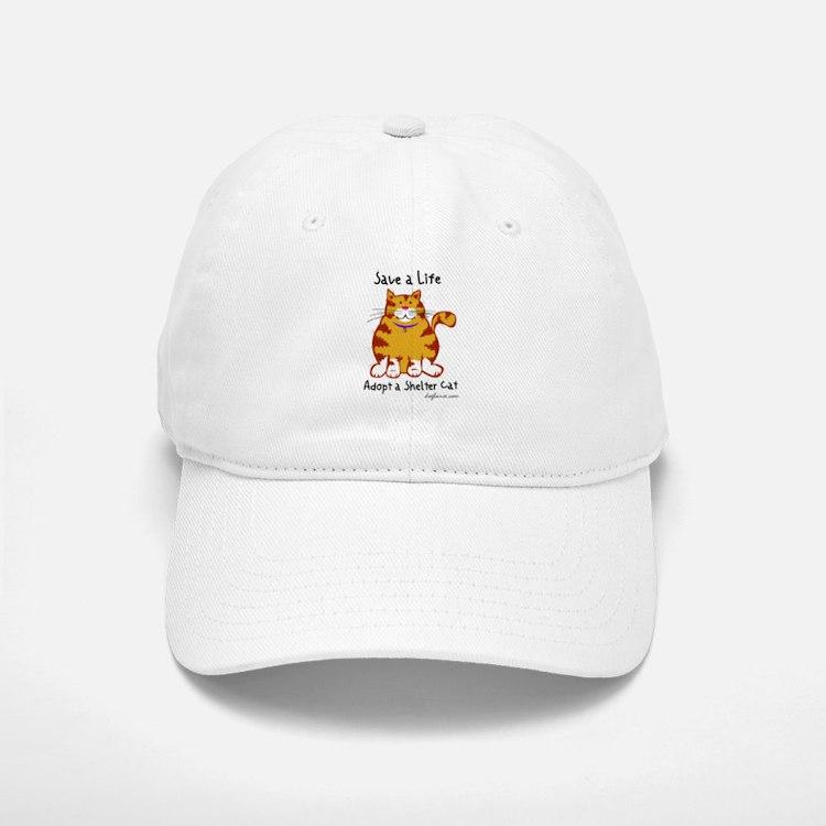 Shelter Cat Baseball Baseball Cap