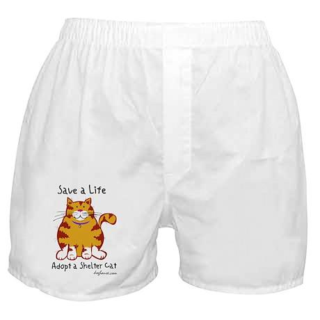 Shelter Cat Boxer Shorts