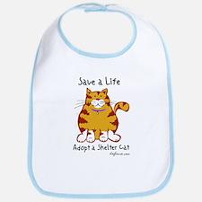 Shelter Cat Bib