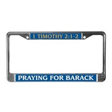 Cute 2 timothy License Plate Frame