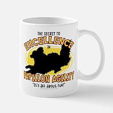 The Secret to Papillon Agility Mug