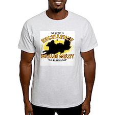 The Secret to Papillon Agility T-Shirt