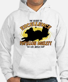 The Secret to Papillon Agility Hoodie