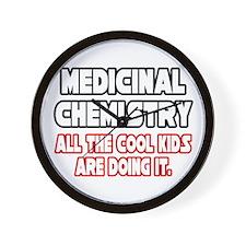 """Med Chem...Cool Kids"" Wall Clock"