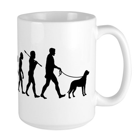 Greater Swiss Mountain Dog Large Mug