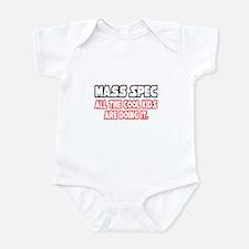 """Mass Spec...Cool Kids"" Infant Bodysuit"