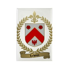 LEHOUX Family Rectangle Magnet (10 pack)