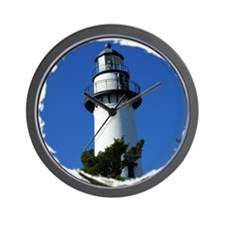 St Simons Lighthouse Wall Clock