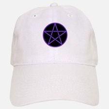 Purple/Black Pentagram Cap